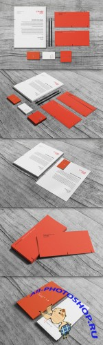 CreativeMarket - Cipher - Stationery Set