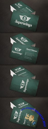 Creativemarket - Vintage Business Cards + Free Logo!