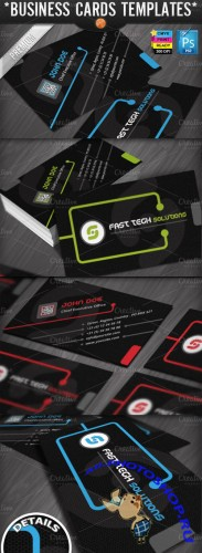 Creativemarket - Technology Business Cards Templates