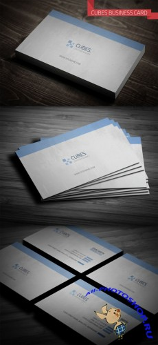 Creativemarket - Cubes Business Card