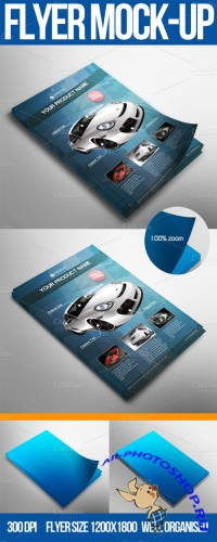 Creativemarket - Flyer Mock-up