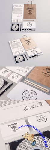 Stationery Mock up Templates Collection 1