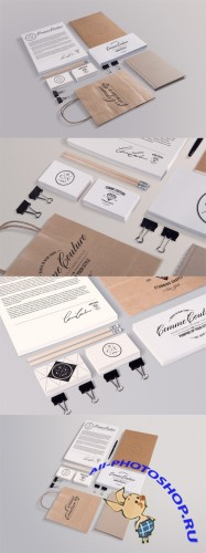 Stationery Mock up Templates Collection 2