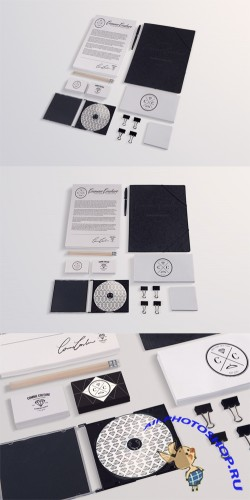 Stationery Mock up Templates Collection 3