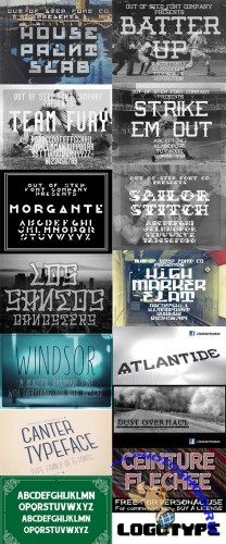 152 Commercial Fonts Collection