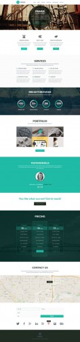 CreativeMarket - Primus - One Page Parallax Template