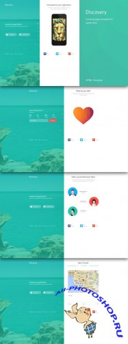 CreativeMarket - Discovery | Showcase for Application