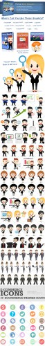 Business Characters Premium Vector Pack