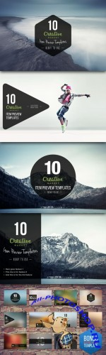 CreativeMarket - Item Preview Templates Vol.1