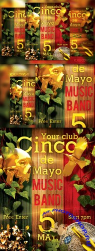 CreativeMarket - Cinco de Mayo Flyer