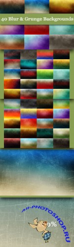 CreativeMarket - 40 Blur & Grunge Backgrounds
