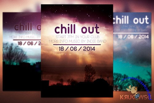 CreativeMarket - Chill out Flyer 39470