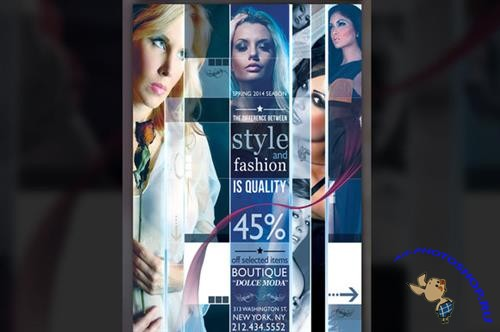 CreativeMarket - Modern Fashion Flyer