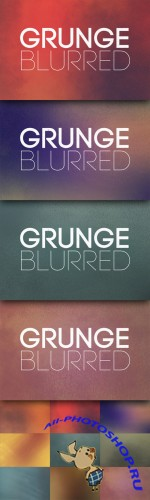 CreativeMarket - Grunge Blurred Backgrounds