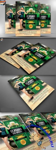 CreativeMarket - Saint Paddy's Day Special Flyer
