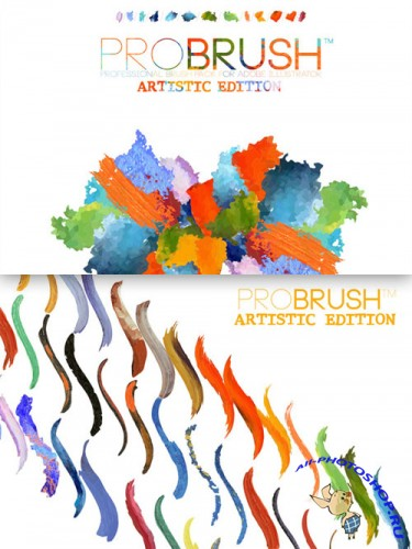 CreativeMarket - 41 Artistic Brushes - ProBrush