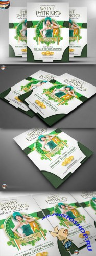 CreativeMarket - O'Malley's St. Patrick's Special PSD