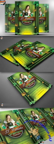 CreativeMarket - St. Patrick's Day Celebration 2 PSD