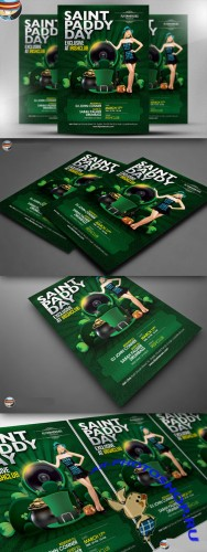 CreativeMarket - Saint Paddy's Day Exclusive Flyer