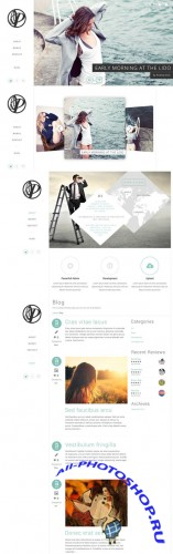 CreativeMarket - Peace - PSD Template 20994