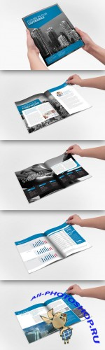 CreativeMarket - Annual Report Indesign Brochure 20969