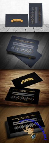 CreativeMarket - VIP/Loyalty Card Template 45740
