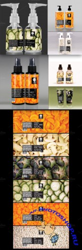 CreativeMarket - Product Label Templates x6