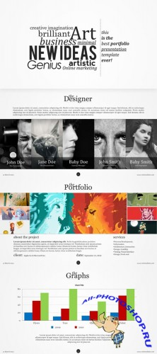 CreativeMarket - The Ideas Keynote Template