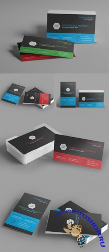 CreativeMarket - University Business Card 50660