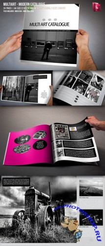 CreativeMarket - MultiArt - Multipurpose Catalogue