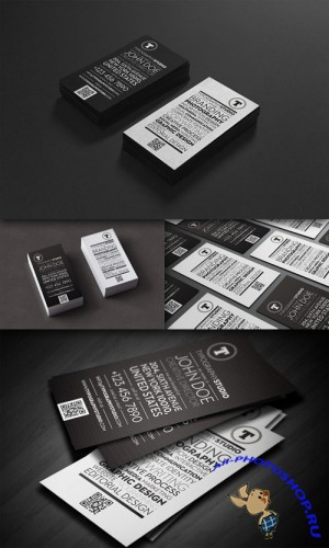 CreativeMarket - Typography Studio business card