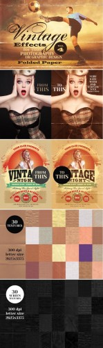 Vintage Effect for Photo Volume 4