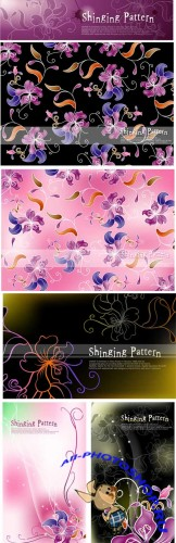 Shinging Floral Patterns
