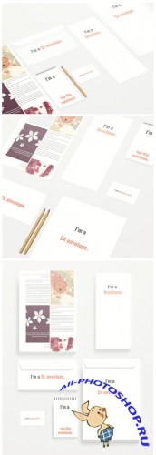 Stationery - ID Mockup Template PSD