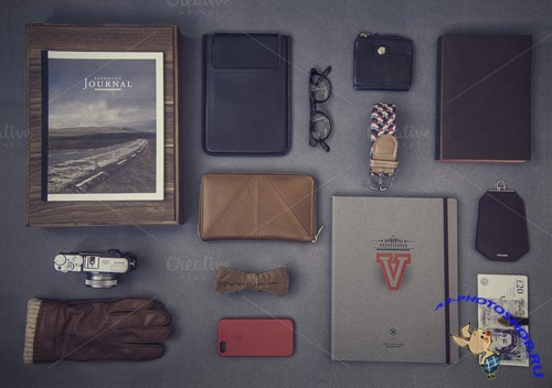 Mock up Template - Hipster Set 03