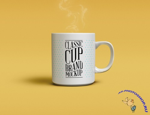 Classic Cup Mock-up Template