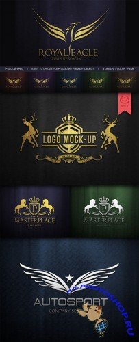 Logo Mock-Up V1 - CreativeMarket 33497