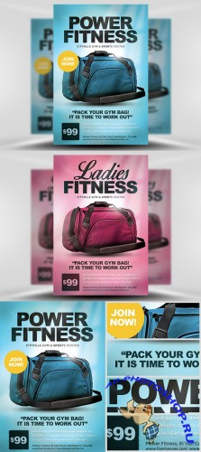 Flyer Template - Gym