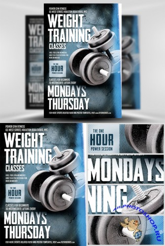 Flyer Template - Weight Training