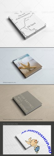 Mock up Template PSD - Book