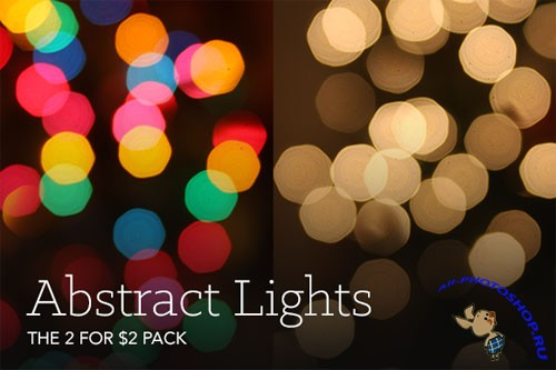 CreativeMarket - Lovely Bokeh Abstract Lights 30520