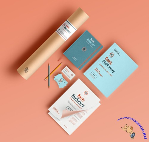 Basic Stationery Mockup Template vol 03