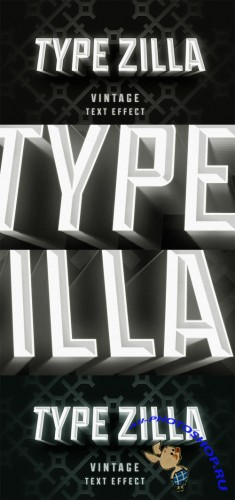 Text Effect PSD - Type Zilla