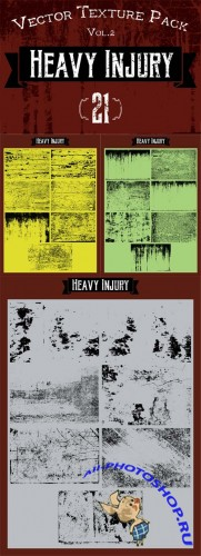 Vector Textures - Heavy Injury