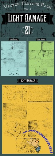 21 Vector Textures - Light Damage