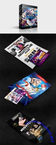 CreativeMarket - Flyer Mockups Bundle
