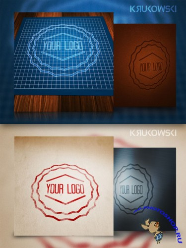CreativeMarket - Logo Mock-up 13583