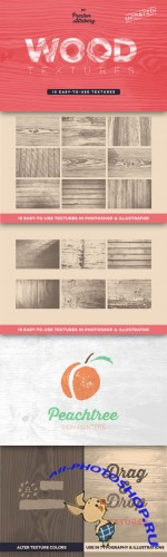 CreativeMarket - Wood Texture Pack 60562