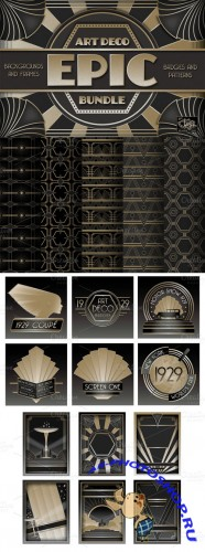CreativeMarket - Epic Art Deco Bundle 6711