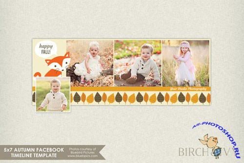 CreativeMarket -  Fall Facebook Timeline Cover 88094